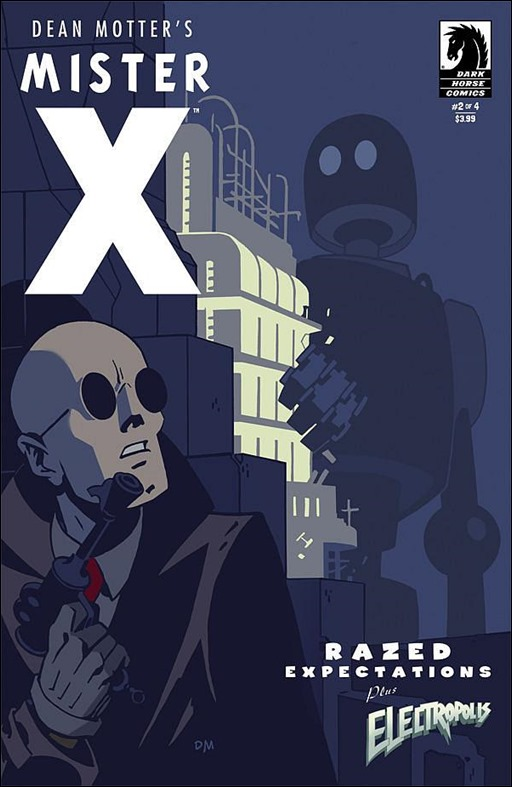 Mister X: Razed #2 Cover
