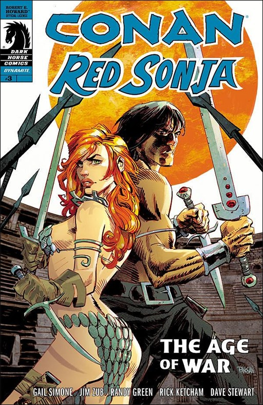 Conan Red Sonja #3 Cover