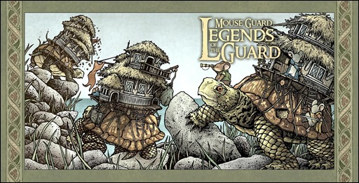 Mouse Guard: Legends of the Guard Vol. 3 #1 Cover A