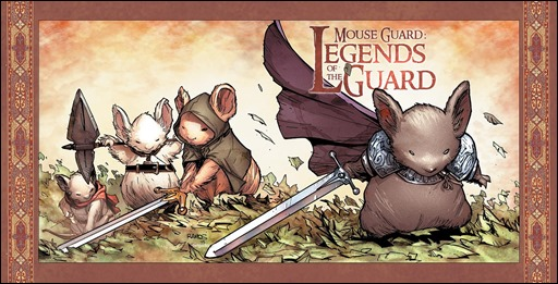 Mouse Guard: Legends of the Guard Vol. 3 #1 Cover C