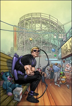 All-New Hawkeye #3 NYC Variant by Pasqual Ferry