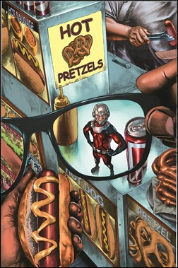 Ant-Man #5 NYC Variant by Mico Suayan