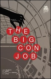 Palmiotti and Brady's The Big Con Job #1 Cover B