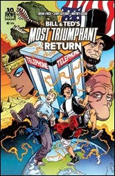 Bill & Ted's Most Triumphant Return #1 Cover