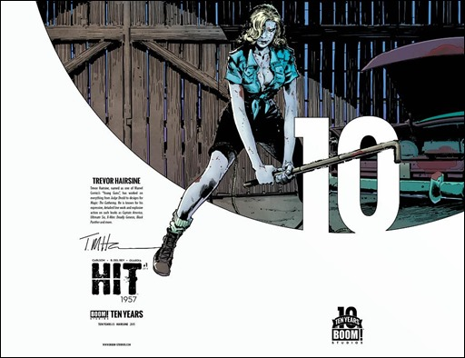 Hit: 1957 #1 Cover B - 10 Years Variant