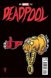 Deadpool Number 250 Cover - RTJ Variant