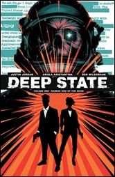 Deep State Vol. 1: Darker Side of the Moon TPB Cover