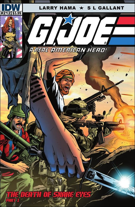 G.I. Joe: A Real American Hero #212 Cover