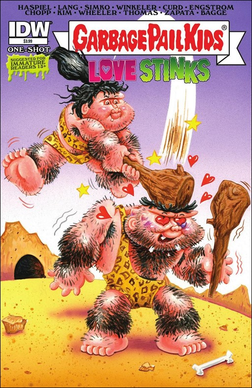Garbage Pail Kids: Love Stinks Cover