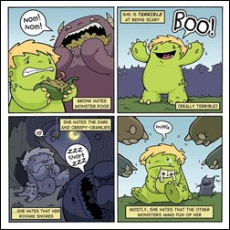 Gronk: A Monster's Story Vol. 1 TPB Preview 3