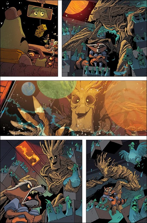 Groot #1 Preview 1