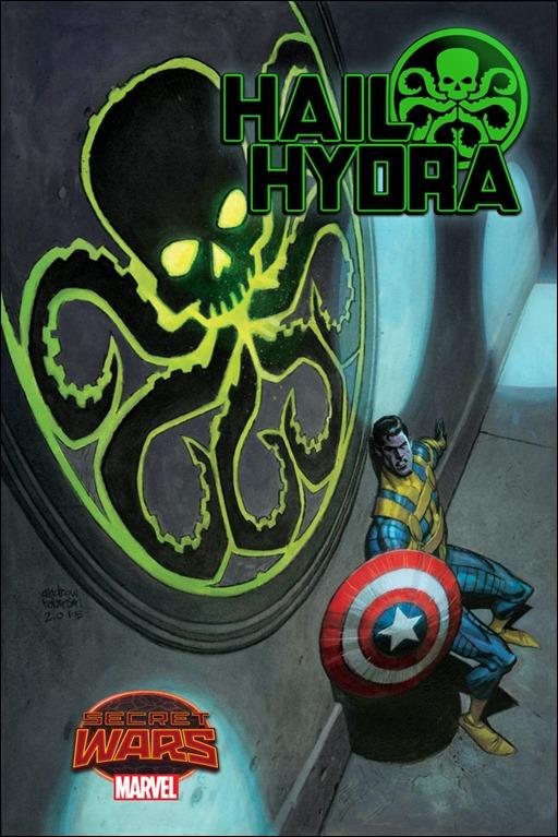 Hail Hydra #1 Cover - Andrew Robinson