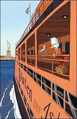 Howard the Duck #3 NYC Variant by Bobby Rubio
