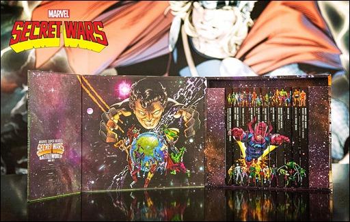 Marvel Super Heroes Secret Wars: Battleworld Box Set Slipcase 2