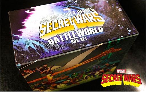 Marvel Super Heroes Secret Wars: Battleworld Box Set Slipcase 3