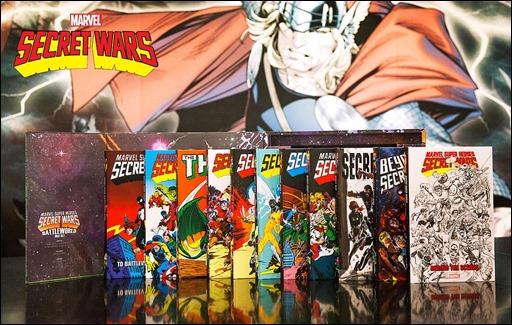 Marvel Super Heroes Secret Wars: Battleworld Box Set Slipcase 1