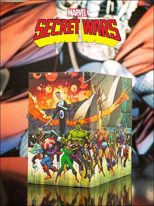 Marvel Super Heroes Secret Wars: Battleworld Box Set Slipcase 4