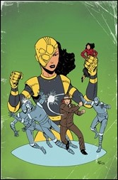 Ivar, Timewalker #5 Cover - Golden Age Variant