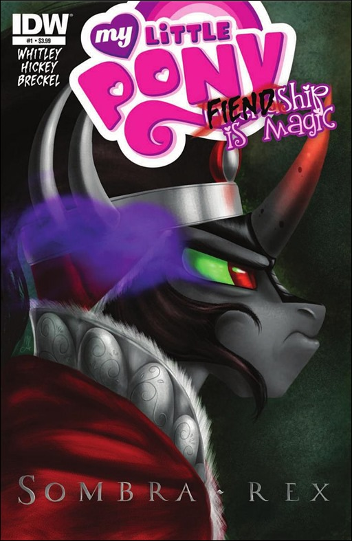 My Little Pony: FIENDship is Magic #1: Sombra Cover
