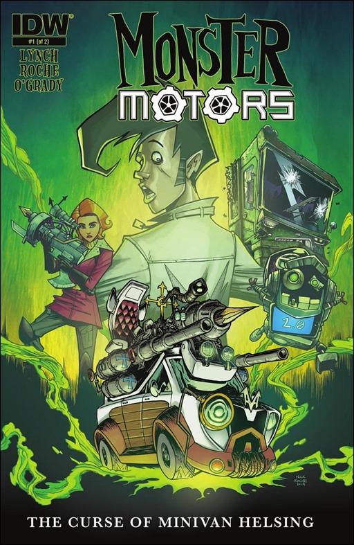 Monster Motors: The Curse of Minivan Helsing #1 Cover