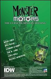 Monster Motors: The Curse of Minivan Helsing #1 Preview 1