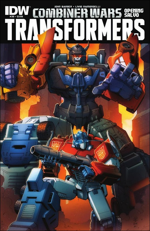 Transformers #39 Cover