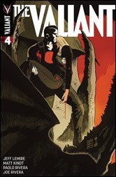 The Valiant #4 Cover - Francavilla Variant