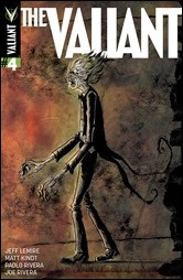 The Valiant #4 Cover - Lemire & Kindt Variant