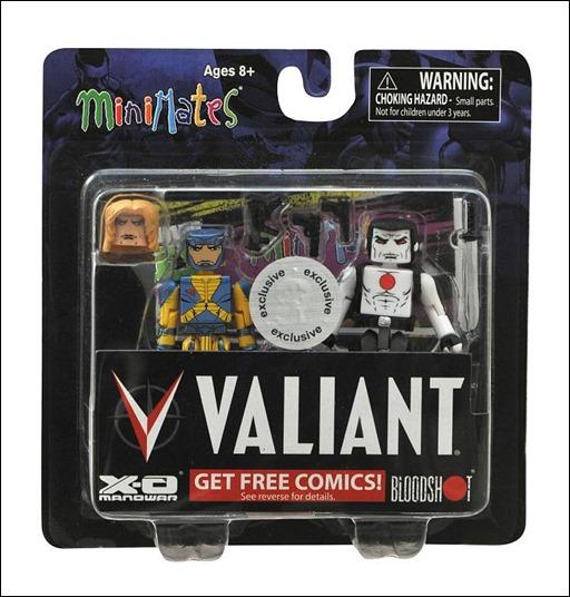 "Valiant MiniMates Two-Pack – X-O Manowar/Bloodshot (Toys""R""Us Exclusive)"