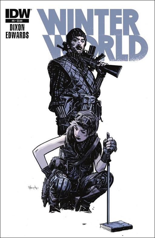 Winterworld #0 Cover