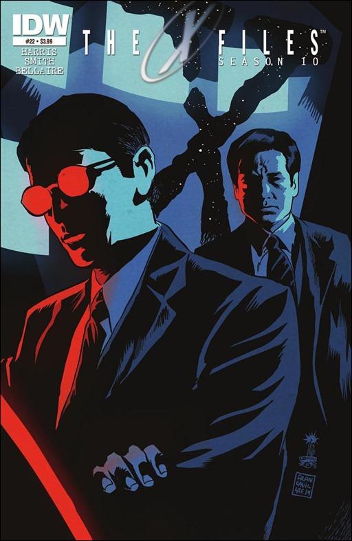 The X-Files: Season 10 #22 Cover