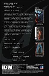 The X-Files: Season 10 #22 Preview 1