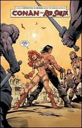 Conan Red Sonja #3 Preview 2