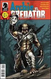Archie vs. Predator #1 Cover - Powell Variant