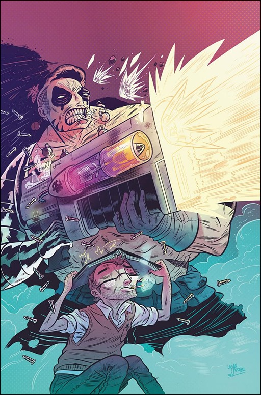 Oh, Killstrike #1 Main Cover by Logan Faerber