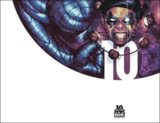 Oh, Killstrike #1 10 Years Variant Cover by Frazer Irving (full wraparound image shown)