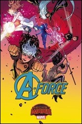 A-Force #1 Cover - Dauterman Variant