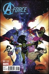 A-Force #1 Cover - Molina Variant