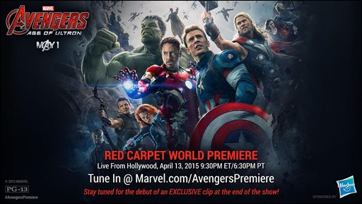 Avengers: Age of Ultron Red Carpet Premiere