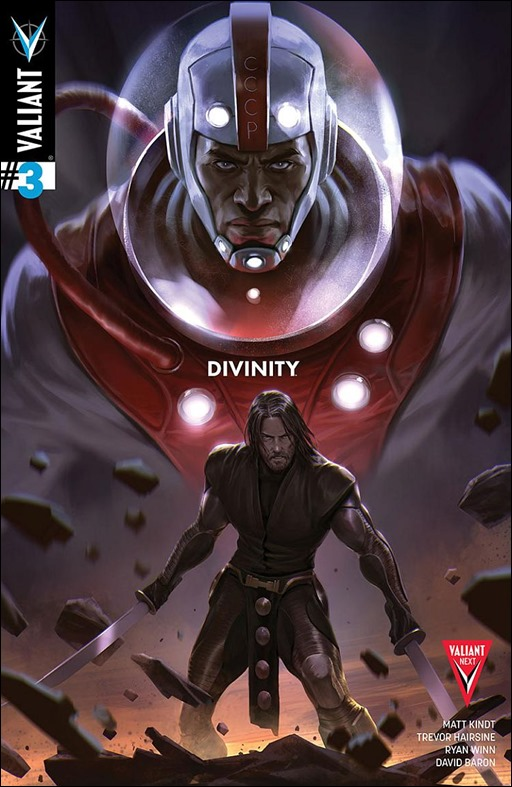 Divinity #3 Cover A - Djurdjevic