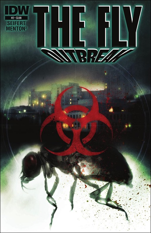 The Fly: Outbreak #2 Cover
