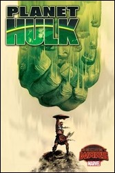 Planet Hulk #1 Cover