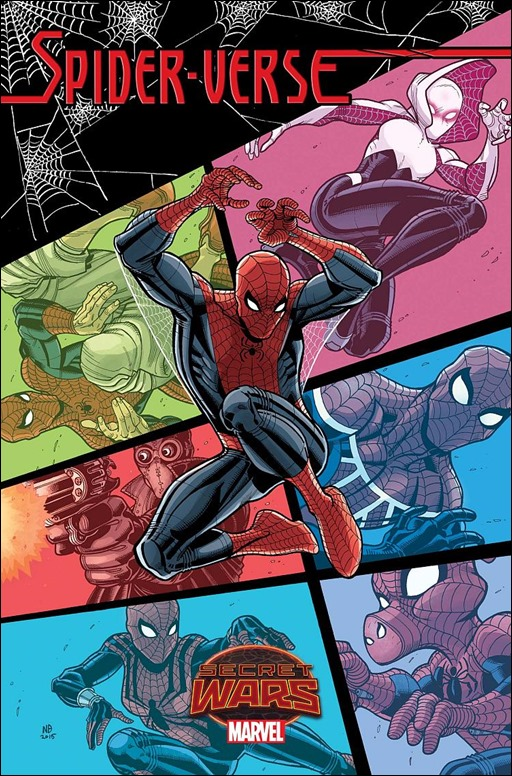 Spider-Verse #1 Cover