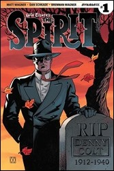 Will Eisner's The Spirit #1 Cover B - Wagner