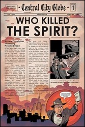 Will Eisner's The Spirit #1