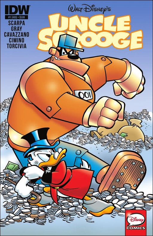 Uncle Scrooge #1 Cover