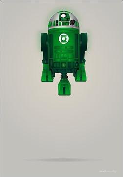 R2-D2 Green Lantern