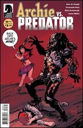 Archie vs. Predator #2 Cover - Hack