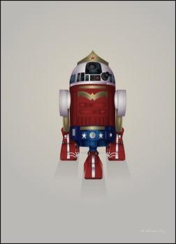 R2-D2 Wonder Woman