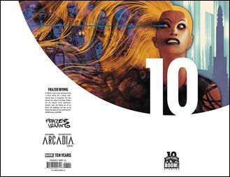 Arcadia #1 Cover B - Ten Years